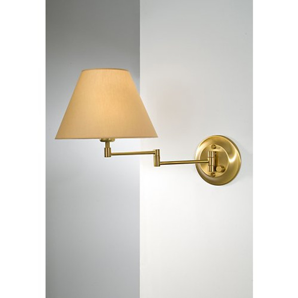Holtkoetter Shaded Swing Arm Sconce