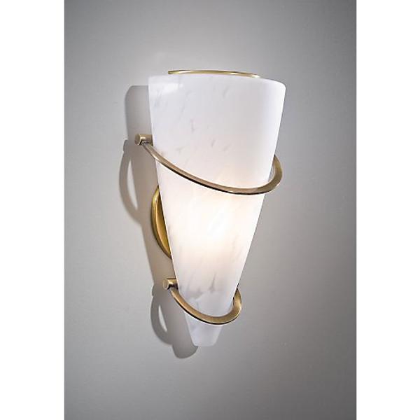 Holtkoetter Sconce in Antique Brass #2969