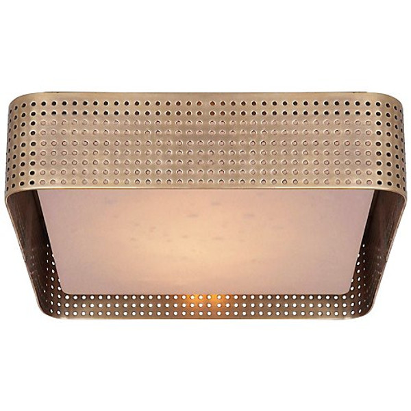 Kelly Wearstler Precision Large Square Flush Mount