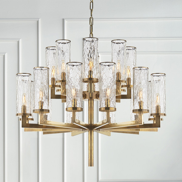 kelly wearstler liaison double tier chandelier