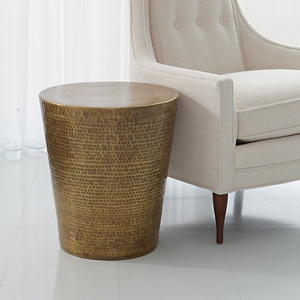 Studio A Home Izmir Hammered Side Table