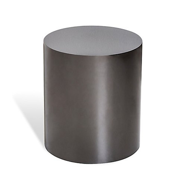Interlude Home Aubrey Cylinder Side Table