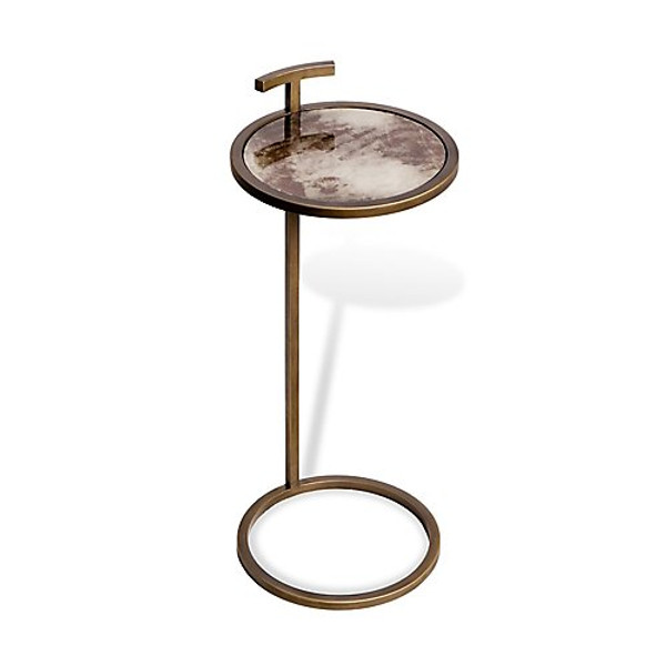 Interlude Home Soren Circular Drink Table
