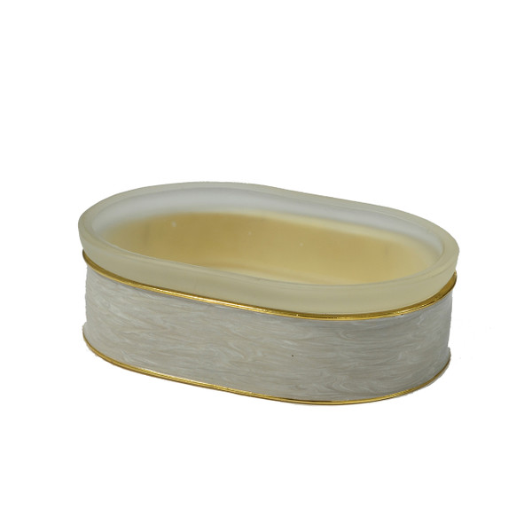 Mike & Ally Moonglow Enamel Soap Dish
