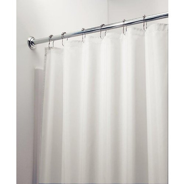 "Shower Curtain Liner, Poly Long 72"" x 72"""