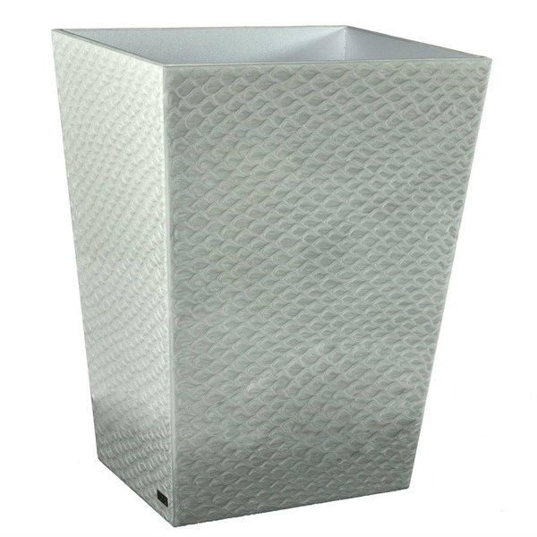 Mike & Ally Fine Silver Pacific Wastebasket
