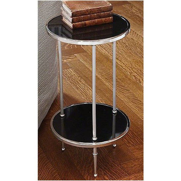 Lovely Global Views Petite 2 Tiered Table