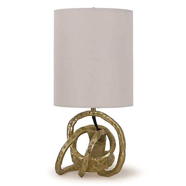 Regina Andrew Mini Soft Gold Knot Lamp