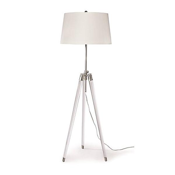 Regina Andrew Brigitte Nickel Floor Lamp
