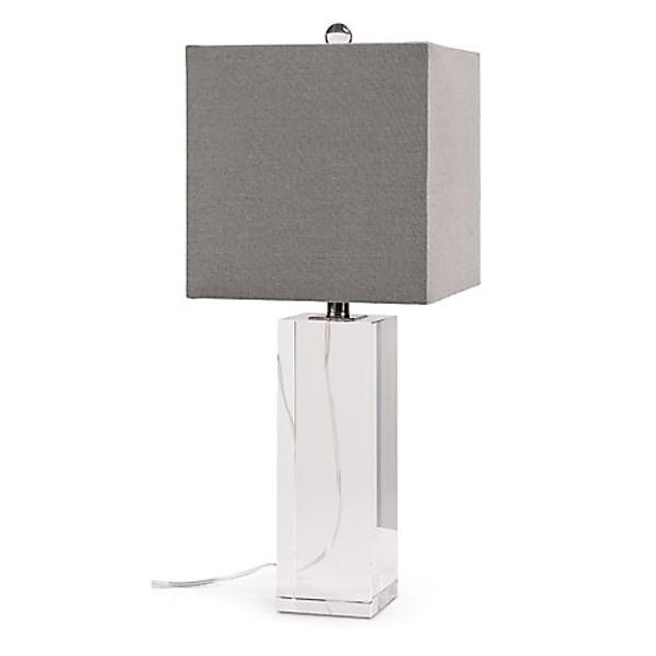 Regina Andrew Crystal Block Lamp