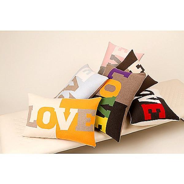 Rani Arabella Pink Cashmere Love Pillow