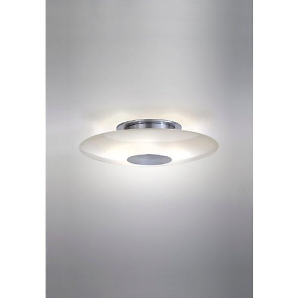 Holtkoetter Modern Ceiling Light Satin Nickel