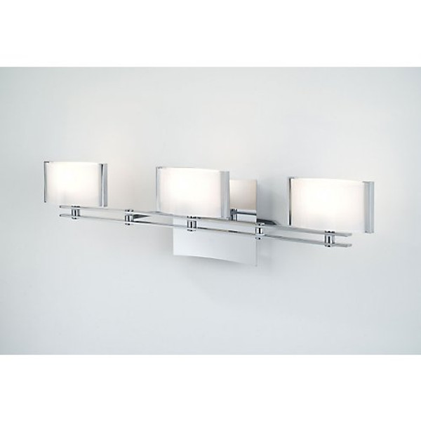 Holtkoetter 3 Light Sconce with Chrome Finish