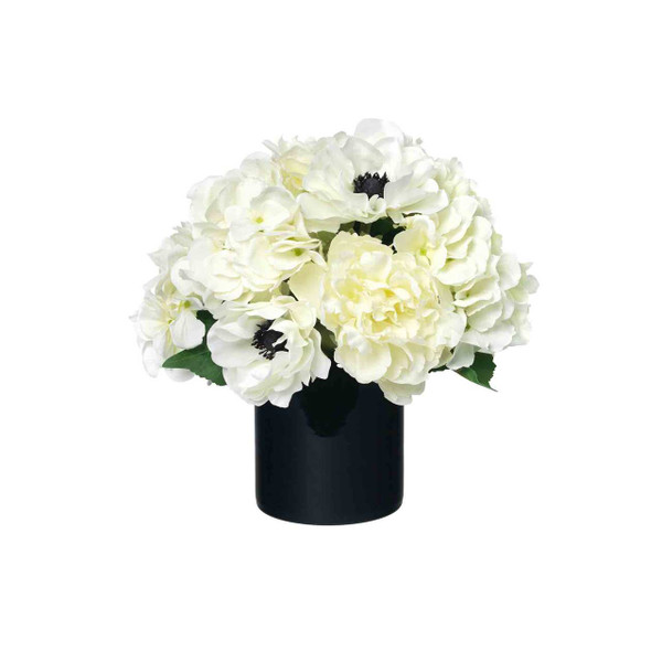 Diane James Home Blooms Hydrangea, Peony and Anemone Bouquet