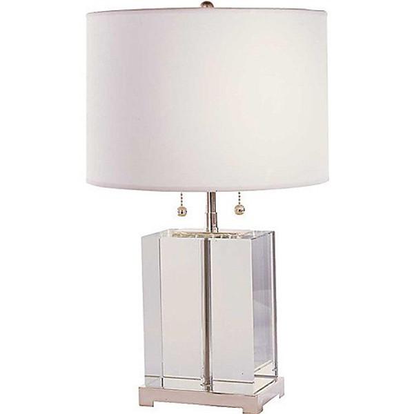 Thomas O'Brien Small Crystal Block Table Lamp
