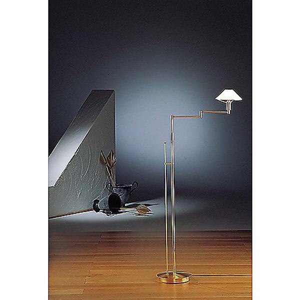 Holtkoetter Glass Shade Floor Lamp