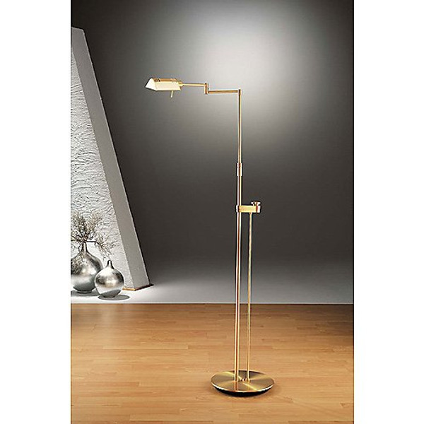 Holkoetter Brushed Brass Pharmacy Floor Lamp