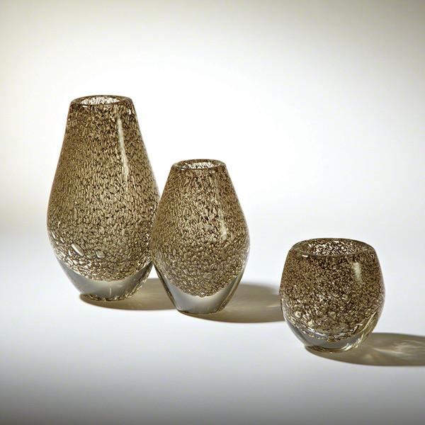 Global Views Platinum Net Medium Vase