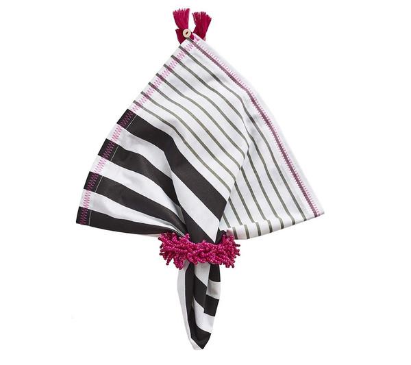 Kim Seybert Carnival Pink Napkin Ring, Set of 4