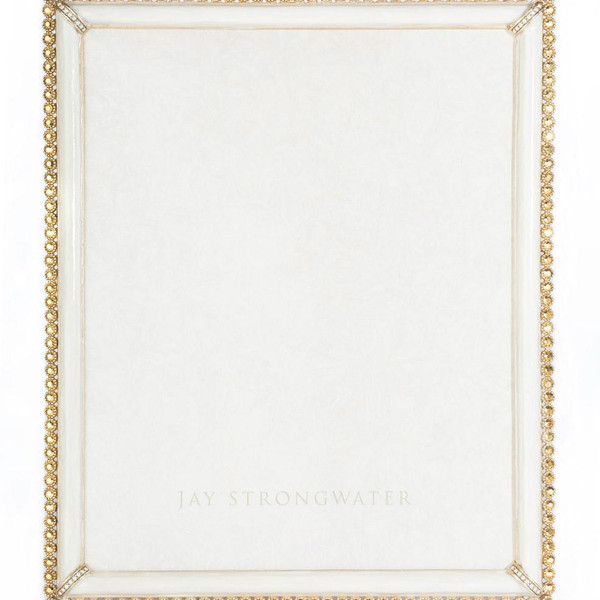 Jay Strongwater Laetitia Gold Stone Edge Frame 8X10