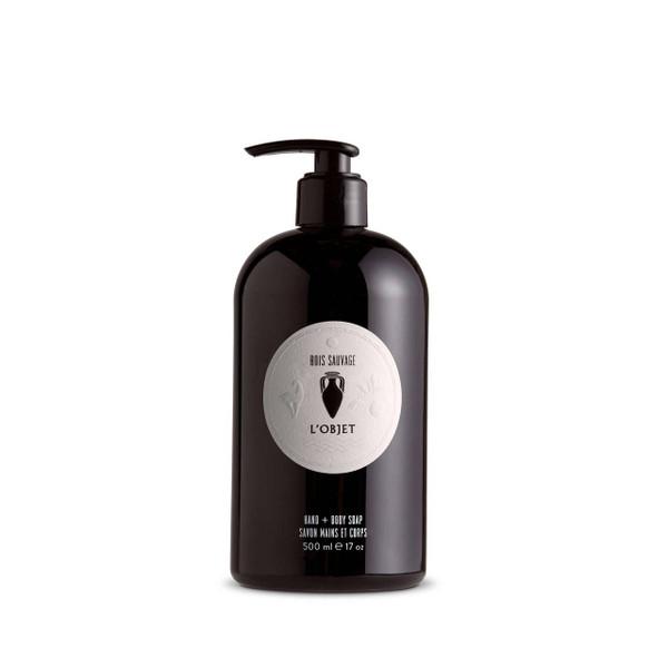 L'Objet Bois Sauvage Hand & Body Liquid Soap (500ml)