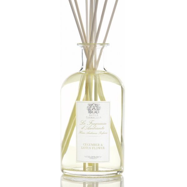 Antica Farmacista Reed Diffuser - Cucumber & Lotus Flower