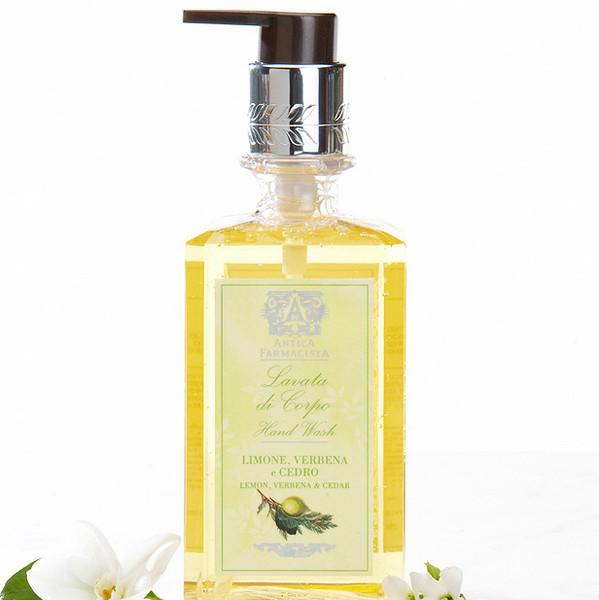 Antica Farmacista Hand & Body Wash - Lemon, Verbena & Cedar
