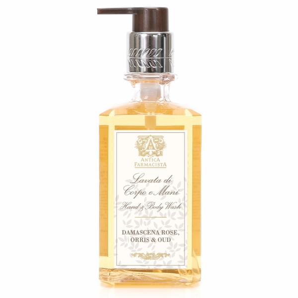Antica Farmacista Hand & Body Wash - Damascena Rose, Orris, & Oud
