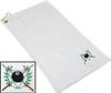 Ozone Billiards Ivy League Towel - White - Free Personalization