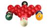 "Aramith Numbered Snooker Ball Set - 2 1/8"""