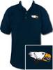 Ozone Billiards Screaming Eagle Navy Polo Shirt - Free Personalization