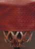 Championship Westex Pool Table Cover 9' Braided Burgundy