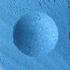 Triangle Billiard Chalk - Blue - Dozen