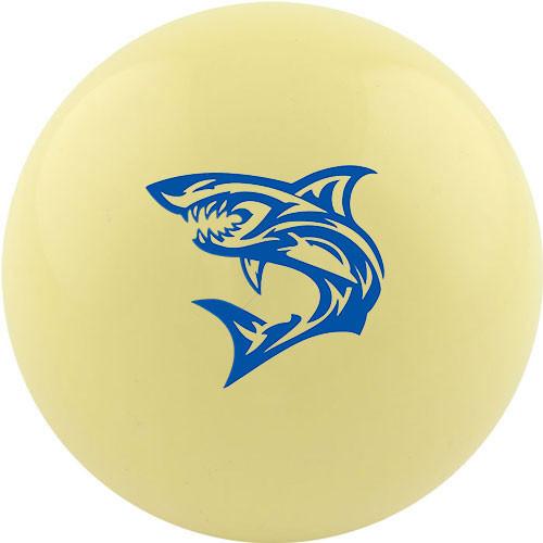 Custom Cue Ball - Tribal Shark