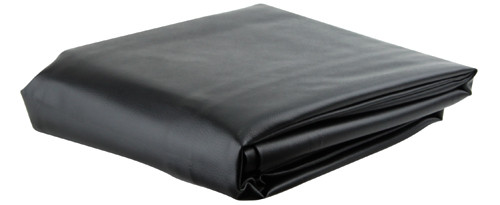 Ozone Black Leatherette Pool Table Cover - 8.5 Foot