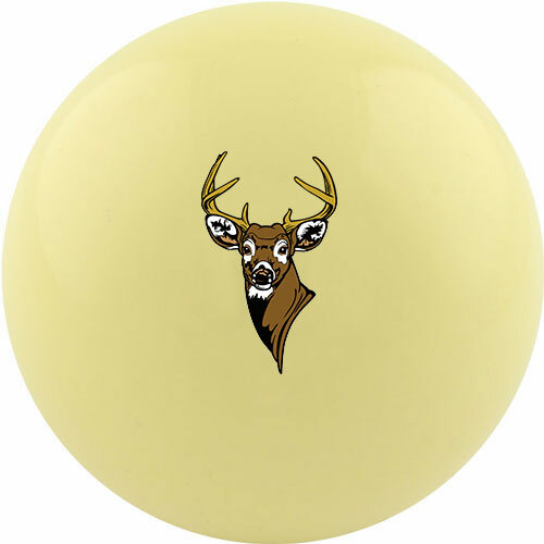 Custom Cue Ball - Deer