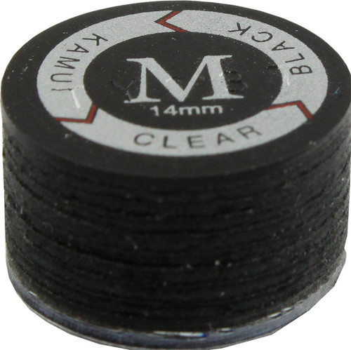 Kamui Clear Black Laminated Leather Tips - Medium