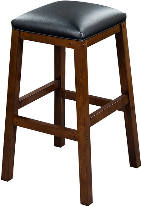"Heritage Collection 30"" Backless Barstool - Port"