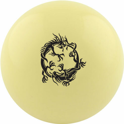 Custom Cue Ball - Dual Dragons