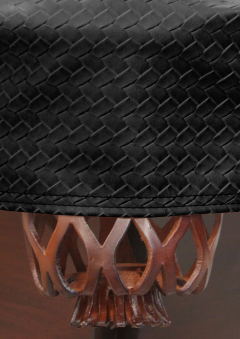 Championship Westex Pool Table Cover 9' Braided Black