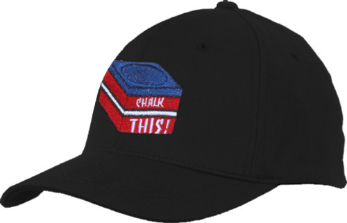 Ozone Billiards Chalk This Hat - Black - Free Personalization