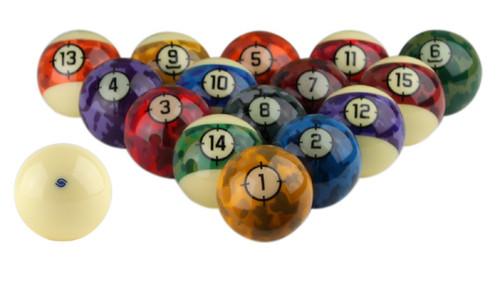 Aramith Camouflage Pool Balls