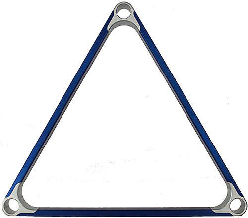 Delta-13 Elite Metal Pool Ball Rack - Blue