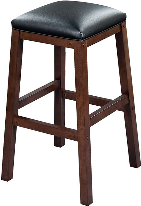 "Heritage Collection 30"" Backless Barstool - Black Cherry"