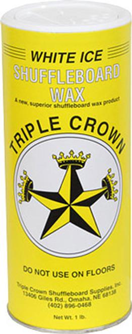 Triple Crown Shuffleboard Wax - White Ice