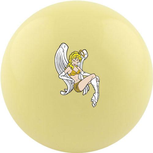 Custom Cue Ball - Angel Girl