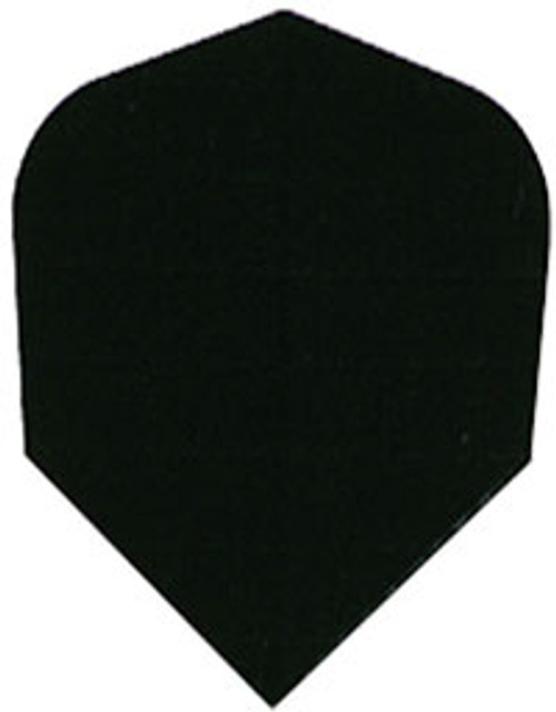 Nylon 160 Micron Thick Standard Flights - Black