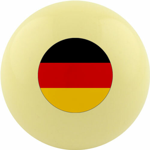Custom Cue Ball - Germany Flag