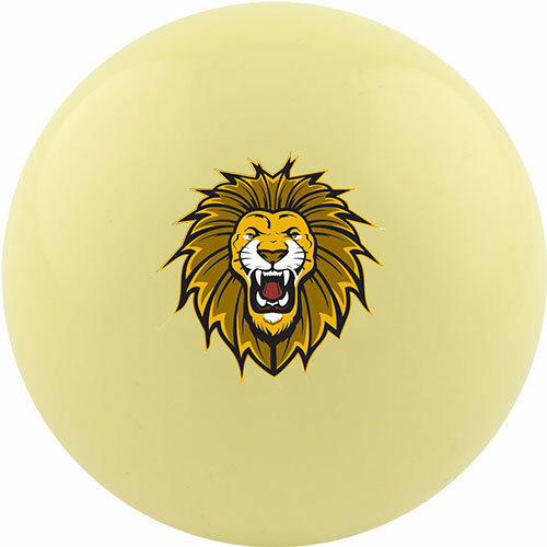 Custom Cue Ball - Lion Head