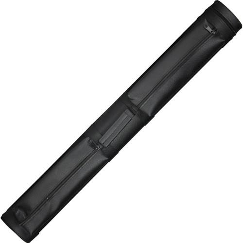 Lucasi Cue Case - 2 Butt/2 Shaft - Black Leatherette
